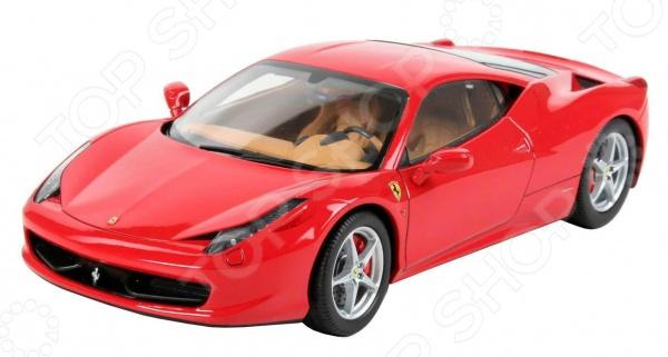 Сборная модель Ferrari 458 Italia представляет собой точную копию настоящего спортивного автомобиля. Состоит из 111 деталей, которые юный механик должен собрать сам. Во время игры с такой машиной у ребенка развивается мелкая моторика рук, фантазия и воображение. Легендарный итальянский суперкар выпущен известной компанией по производству игрушек Revell. Изготовлен из пластика и обладает потрясающей детализацией. Сборная модель автомобиля Ferrari 458 Italia является отличным подарком не только ребенку, но и коллекционеру. Длина модели составляет 189 мм. Клей, кисточка и краски входят в комплект.