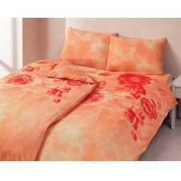 фото Комплект постельного белья TAC Escade. Семейный. Цвет: персиковый