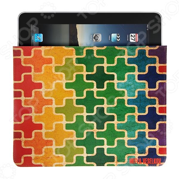 Чехол для iPad Mitya Veselkov «Пазл» чехлол для ipad iphone mitya veselkov чехол для ipad райский сад ip 08