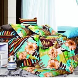 фото Комплект постельного белья Amore Mio Tropic. Provence. Семейный