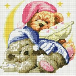 фото Набор для создания мозаичной картины Белоснежка «Два медвежонка»