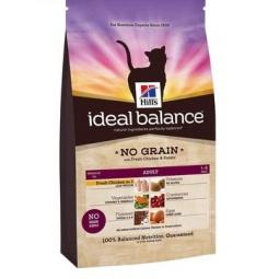 фото Корм сухой для кошек Hill's Ideal Balance со свежей курицей и картофелем