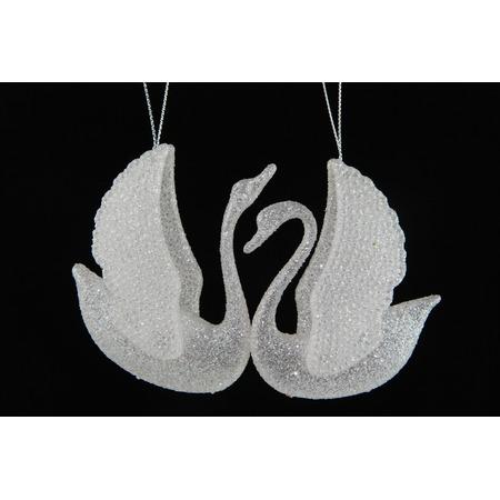 Купить Елочное украшение Crystal Deco «Лебедь» 1707764. В ассортименте