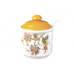 Купить Банка для хранения с ложкой Коралл HC203-F60 «Марокканский цветок»