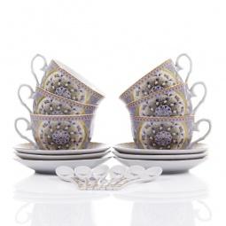 Купить Чайный набор с ложками Elan Gallery «Калейдоскоп»