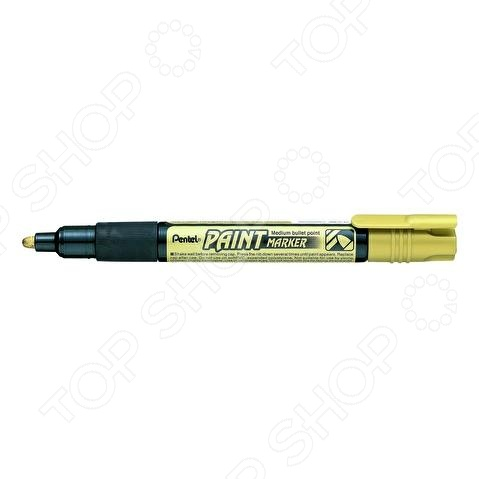 Маркер перманентный Pentel MMP20 канцелярский предмет, необходимый для разметки, маркировки и редактирования. Пригодится школьникам, студентам и офисным работникам. Жидкие пигментные чернила. Наконечник круглый пулеобразный .