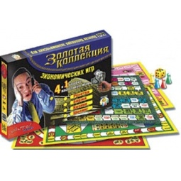 фото Настольная игра TopGame «Золотая коллекция экономических игр 4 в 1»