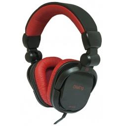 фото Наушники мониторные Dialog HP-A35. Цвет: черный, красный