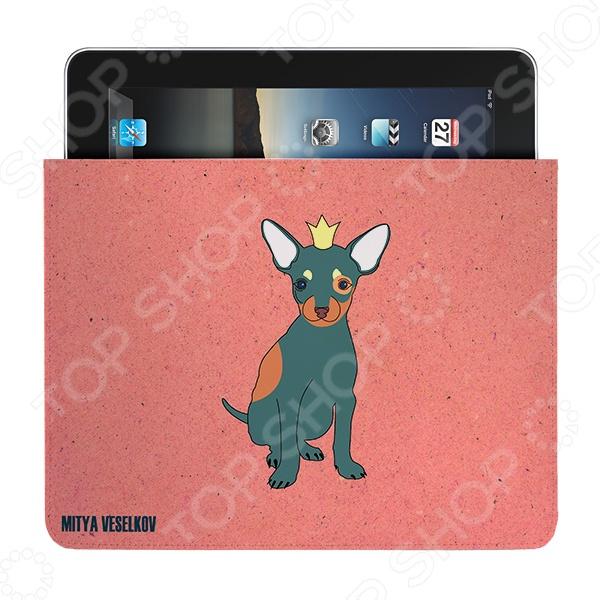 Чехол для iPad Mitya Veselkov «Той в короне» чехлол для ipad iphone mitya veselkov чехол для ipad райский сад ip 08