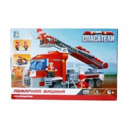 Купить Конструктор игровой 1 Toy «Спасатели. Пожарная машина»