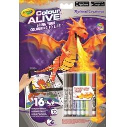 Купить Раскраска интерактивная Crayola «Драконы»
