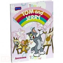 фото Дневник школьный Бриз Boom Том и Джерри 244. В ассортименте