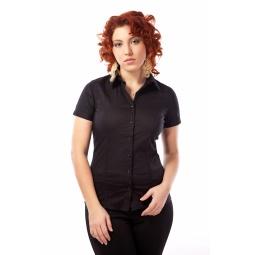 фото Рубашка Mondigo XL 9610. Цвет: черный. Размер одежды: 48