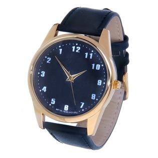 Купить Часы наручные Mitya Veselkov «Обратный циферблат» Gold