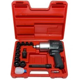 Купить Набор инструмента: пневмогайковерт с ударными головками Force F-4142-4