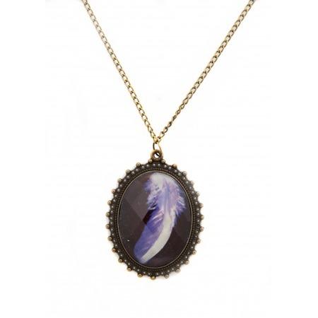 Купить Кулон Mitya Veselkov «Фиолетовое перо»