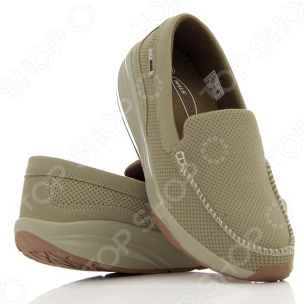 Мокасины мужские Walkmaxx Comfort. Цвет: бежевыйКроссовки. Кеды. Мокасины<br>Разработаны, чтобы улучшить вашу жизнь, изменив вашу походку. Мокасины Walkmaxx Comfort с закругленной подошвой созданы для имитации ходьбы на мягком песке. С мокасинами Walkmaxx Comfort ваши ноги будут в комфорте.  Способствуют укреплению мышц, ног и ягодиц  Стопа, перекатываясь с пятки на носок, усиливает циркуляцию крови  Ваши ноги не затекут при ходьбе  Давление перераспределяется с суставов на мышцы  Вы быстрее теряете калории и становитесь стройнее Мы модернизировали новые мокасины Walkmaxx Comfort улучшенным сочетанием материалов для большего комфорта и устойчивости при ходьбе:  подошва сделана из PU Полиуретан TPR резины Термопластичная резина  подошва разработана против скольжения  верхняя часть обуви изготовлена из PU замши Мокасины Walkmaxx Comfort с новой конструкцией подошвы и классическим утонченным стилем подарят вам привлекательный внешний вид в сочетании с комфортом ваших ног и осанки. К тому же вы сможете сочетать их абсолютно с любым комплектом из вашего гардероба. Эти мокасины являются идеальным балансом между пользой для вашего здоровья и внешним видом. Материал PU замши на верхней части Мокасин Walkmaxx Comfort обеспечивает отличную воздухопроницаемость в течение всего дня, поэтому ваши ноги смогут дышать даже в самый жаркий летний день. Противоскользящая подошва обеспечивает устойчивость на любой поверхности и безопасную ходьбу. Новая комбинация материалов внутри подошвы и их свойства подарят вам комфорт, защитят от ударов и трения, обеспечат дополнительную амортизацию.  Новый яркий дизайн подчеркивает изысканность вашего гардероба  Это удобная обувь на каждый день  Улучшенная анатомически разработанная округлая подошва со специальным подъемом обеспечивает дополнительную амортизацию и приводит в тонус ваши мышцы при ходьбе  Нагрузка на суставы снижается и улучшается осанка<br>