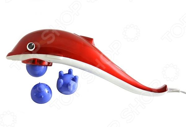 Массажер ручной Bradex «Дельфин»Массажеры для тела<br>Массажер ручной Bradex Дельфин инфракрасный прибор, который улучшит состояние вашей кожей, тонизирует мышцы, скорректирует фигуру и подарит бодрость. Массажер эффективно снимает усталость и напряжение, применяется для акупунктурного массажа шеи, плеч, поясницы, стоп. Пользователю доступны различные режимы интенсивности вибрации. Рекомендуемая продолжительность работы 30 минут.<br>