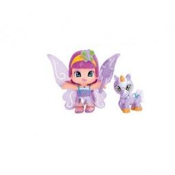 фото Набор игровой с куклой Famosa «Пинипон. Фиолетовая фея и единорог»