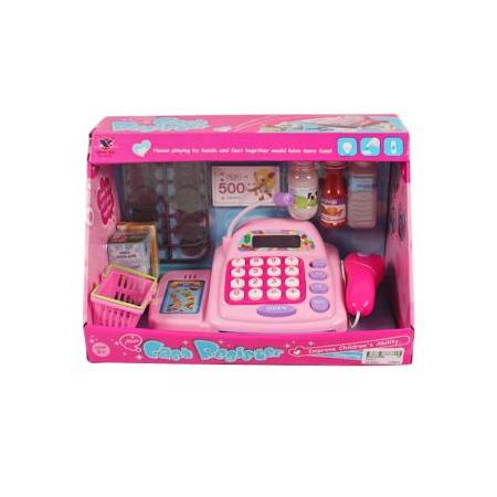 Купить Игровой набор для девочки Shantou Gepai «Касса электронная с аксессуарами»