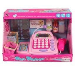 фото Игровой набор для девочки Shantou Gepai «Касса электронная с аксессуарами»