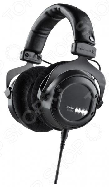 Наушники мониторные Beyerdynamic Custom StudioНаушники<br>Наушники мониторные Beyerdynamic Custom Studio отличные наушники закрытого типа для прослушивания медиа-файлов. Обладают чистым и объемным звуком на всем диапазоне 5 35000 Гц , мягкие и глубокие басы сделают прослушивание более приятным, а амбушюры обеспечат отличную шумоизоляцию, не причиняя дискомфорт. Оголовье регулируется по высоте. Разъем 3.5 мм и переходник 6.35 мм в комплекте.<br>