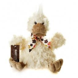 фото Мягкая игрушка Maxitoys «Утенок Кряк с коричневым клювом»