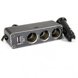 Купить Разветвитель для прикуривателя «4 в 1» WF-0096