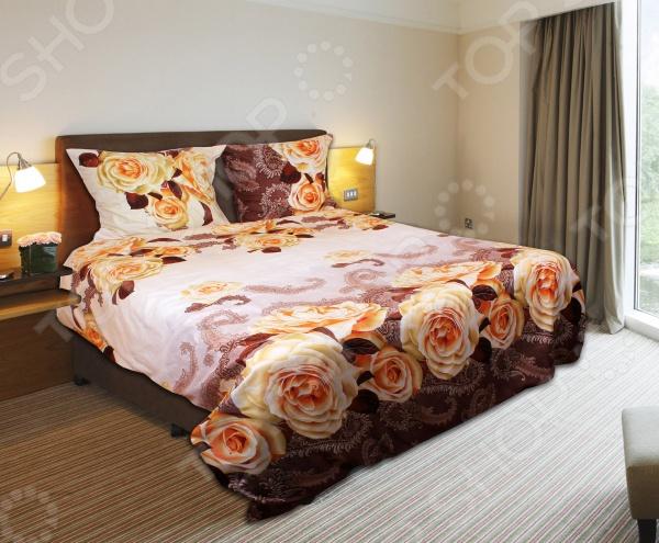 Комплект постельного белья Amore Mio Mix. Mako-Satin. 2-спальный2-спальные<br>Amore Mio Mix. Mako-Satin это комплект постельного белья нового поколения , предназначенного для молодых и современных людей, желающих создать модный интерьер спальни и сделать быт более комфортным. При его изготовлении используются безопасные, гипоаллергенные красители. Дисперсный метод окраски прекрасно передает качество рисунка и добавляет устойчивости к истиранию. Белье из великолепного мако-сатина премиум класса станет украшением любой спальни. Основой для ткани служит полиэстер. Специальный станок изготавливает из тонкой пряжи прочные и гладкие нити атласного переплетения. Ткань, сделанную таким образом, легко узнать по ее особому блеску, мягкости и гладкости. Процесс ворсования поверхности придает полотну дополнительную нежность шелка и дарит необычайно сладкую негу тактильных удовольствий. Пошив, происходящий на автоматической линии, гарантирует, что размер белья будет строго соблюдаться. Благодаря уникальным потребительским свойствам, белье не теряет цвет и не садится во время стирки, а на ткани не образуются катышки .<br>