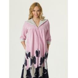 Купить Халат для беременных Nuova Vita 303.31. Цвет: розовый