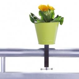 фото Горшок цветочный для балкона MyBalconia Potpourriflower. Цвет: зеленый