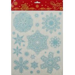 фото Пленка декоративная для окна Феникс-Презент 31243 «Снежинки 2»
