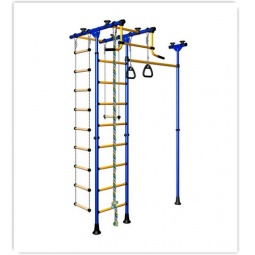 фото Детский спортивный комплекс Карусель Меркурий-1. Цвет: синий