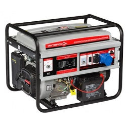 Купить Генератор бензиновый Интерскол ЭБ-6500