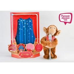 Купить Мягкая игрушка интерактивная Tongde «Обезьянка»