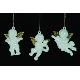 Купить Елочное украшение Crystal Deco «Ангелочек» 1707702. В ассортименте