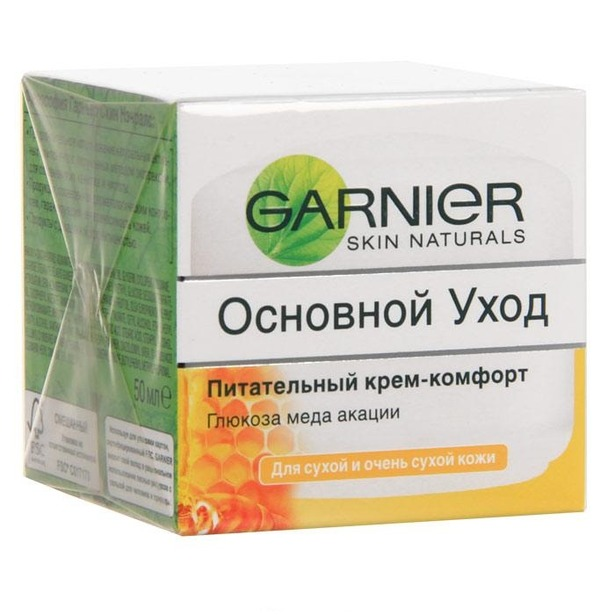 фото Крем для лица Garnier Skin Naturals Основной уход