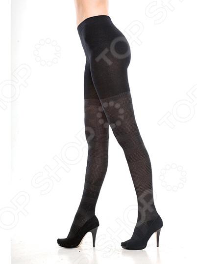 Колготки фантазийные Burlesco R52135. Цвет: черный