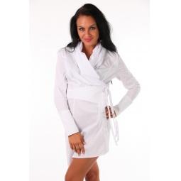 фото Блузка Mondigo 9625. Цвет: белый. Размер одежды: 46