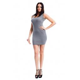 фото Туника Mondigo 9848. Цвет: серый. Размер одежды: 44