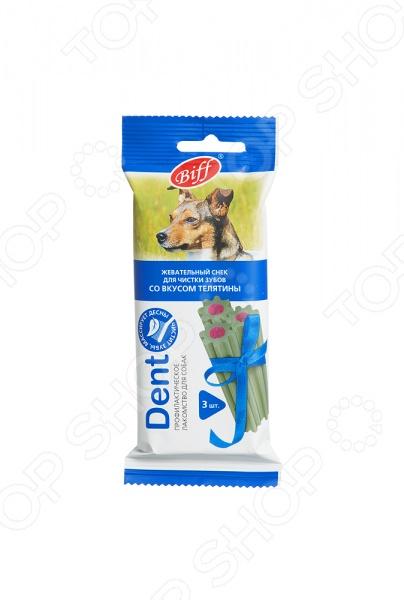 Лакомство для собак средних пород TiTBiT 0991 DENT «Жевательный снек со вкусом телятины»