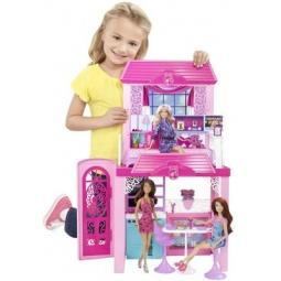 фото Набор игровой для девочек Mattel Дом и кукла Barbie