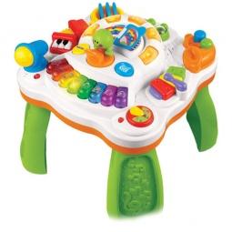 фото Стол для малыша развивающий Weina «Музыкальные инструменты»