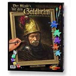 Купить Раскраска по номерам Schipper «Репродукция. Мужчина в золотом шлеме. Рембрандт ван Рейн»