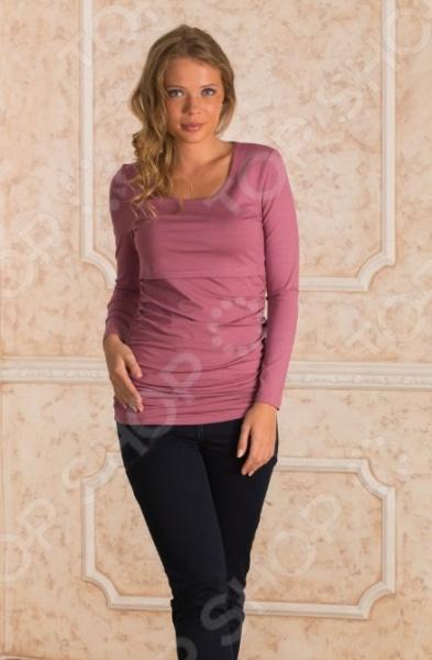 Кофта для беременных Nuova Vita 1396.1. Цвет: розовый блуза com mix цвет розовый