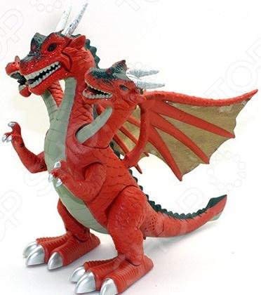 Игрушка-робот интерактивная JoyD «Дракон»Интерактивные роботы<br>Игрушка-робот интерактивная JoyD Дракон отлично подойдет для детей, которым нравятся мультфильмы с участием драконов и динозавров. В процессе игры малыш сможет лучше узнать этих загадочных животных. Игра, без сомнений, будет очень увлекательна, ведь интерактивный дракон умеет двигаться, как настоящий, и издает удивительные звуки, которые пугают и восхищают одновременно. Реалистичности добавляют и красочные световые эффекты. Игрушка работает от 3-х батареек типа AA. Время работы составляет около 90 минут.<br>