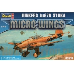 Купить Сборная модель бомбардировщика Revell Junkers Ju 87B Stuka