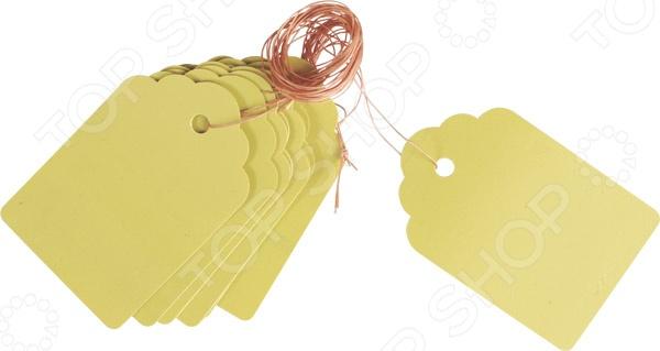 Набор ярлыков влагостойких Archimedes 91819Ярлыки. Метки садовые<br>Набор ярлыков влагостойких Archimedes 91819 прочные ярлычки для маркировки и нанесения информации о растениях. Ярлыки сделаны из устойчивого к влаге материла. В наборе есть 10 полиэтиленовых ярлыков размеров 60 мм на 40 мм, и имеют петлю из веревки. Цвет пластика позволяет наносить информацию о растениях при помощи карандаша или перманентного маркера.<br>