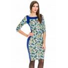Фото Платье Mondigo 5129. Цвет: голубой. Размер одежды: 46