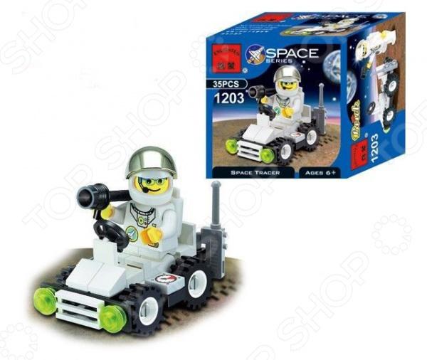 Конструктор игровой Brick 1203 Space Tracer цена